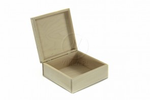 Pudełko/ kasetka z drewna