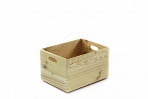 Skrzynka prosta drewniana