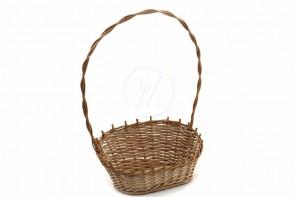Wiklinowy koszyk do pakowania prezentów