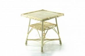 Stół kwadrat wybielony