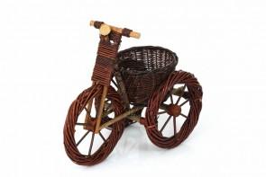 Kwietnik rowerek ciemny