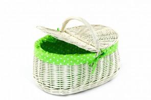 zielony kropki