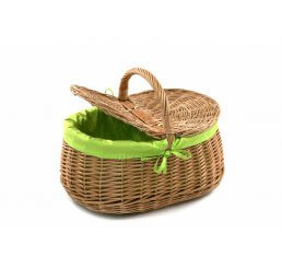 Kosz piknikowy wyszyty