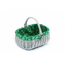 Koszyk przecierany prezentowy wyszyty