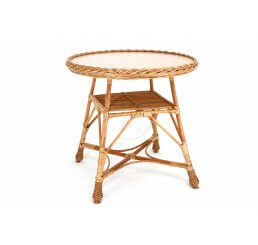 Stół z blatem okrągły